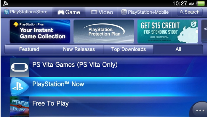 PS Vita版「PlayStation Now」北米オープンβテスト体験レポート