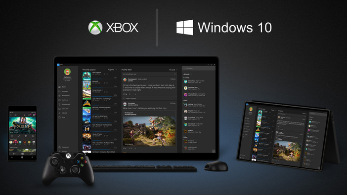 Windows 10とXbox Oneの連携機能が発表―PC版『Fable Legends』とSteam対応も