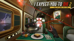 VR向け脱出ゲーム続編『I Expect You To Die 2: The Spy and The Liar』が2021年にPS VRで登場!潜入捜査の危険な世界に飛び込め 画像