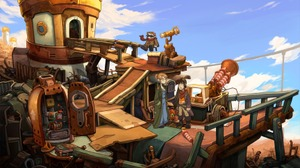 Epic GamesストアにてADV3作『Deponia: The Complete Journey』『Ken Follett's The Pillars of the Earth』『The First Tree』期間限定無料配信開始 画像