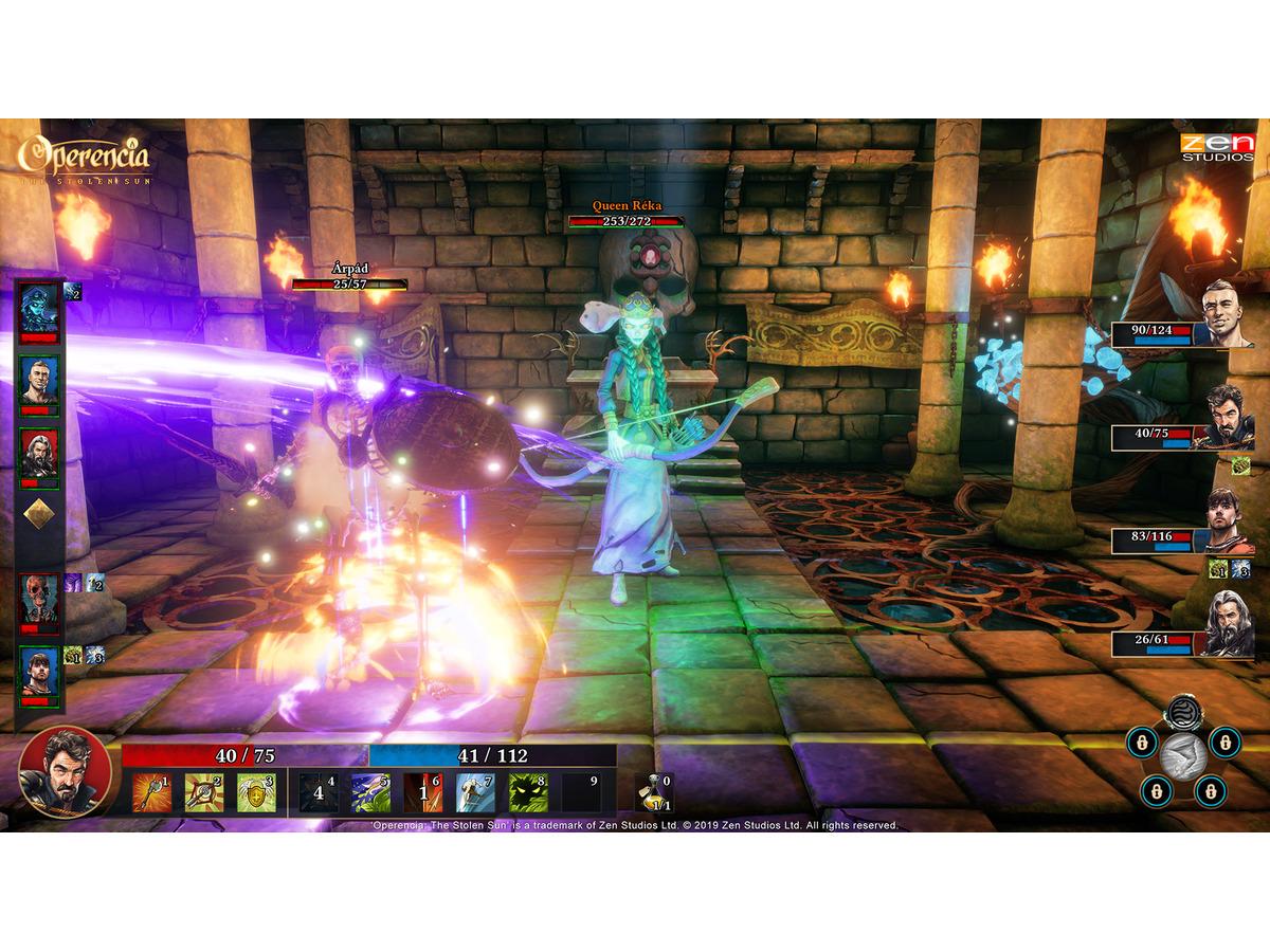 新作ダンジョンRPG『Operencia:The Stolen Sun』PC/XB1版が発売