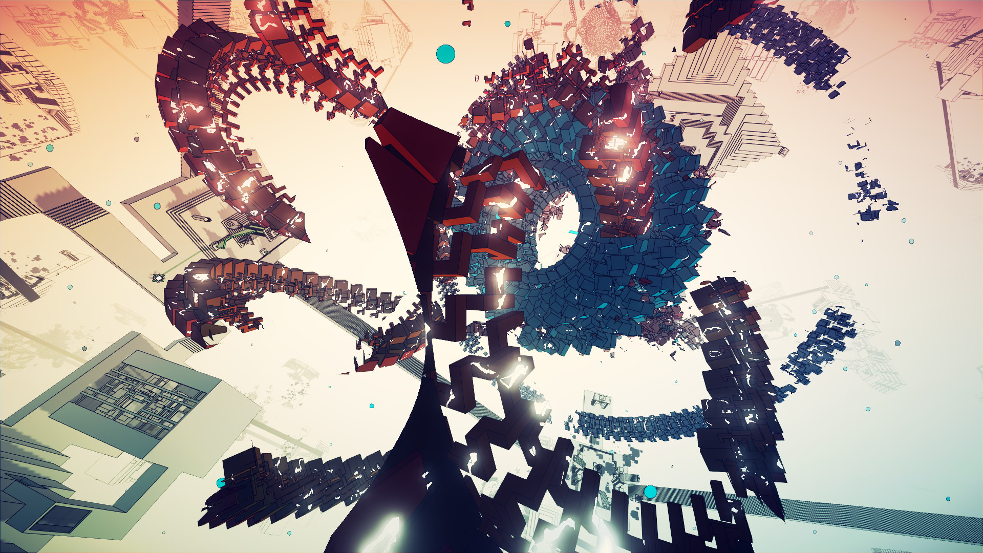 7年かけて開発されたエッシャー的世界観の一人称パズル Manifold Garden Steam版がリリース Game Spark 国内 海外ゲーム情報サイト