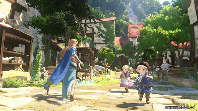 PS4『グランブルーファンタジー PROJECT Re: LINK』新規スクショ公開、ステージでは実機プレイ映像も