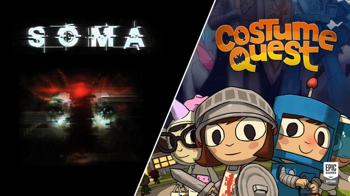 Epic Gamesストアにて『SOMA』『Costume Quest』期間限定無料配布開始!―次回は『Nuclear Throne』『RUINER』