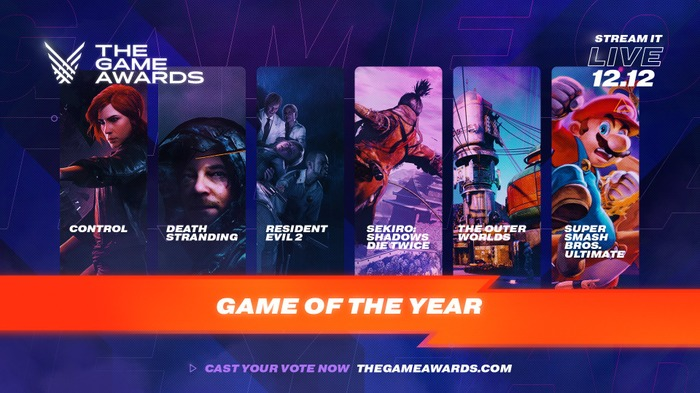 「The Game Awards 2019」各部門ノミネート作品発表! 国産タイトルも多数選出