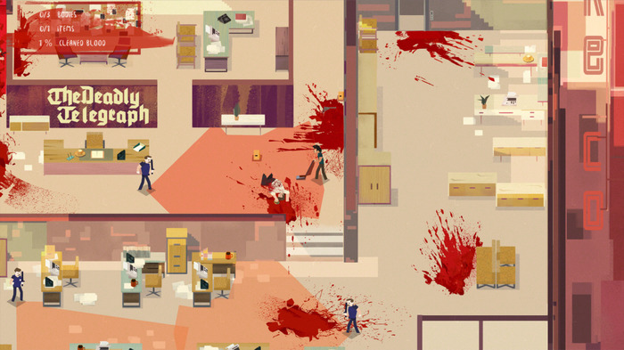 Humble2019秋セール開催!殺人現場掃除屋ACT『Serial Cleaner』Steam版が期間限定無料配信