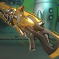 これは目立つぞ!『オーバーウォッチ』ランクマッチ報酬「金色武器」のプレビュー画像 画像