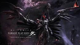 Comic-Conにてスクエニ野村氏デザインのバットマンフィギュアを展示、召喚獣のような見た目に