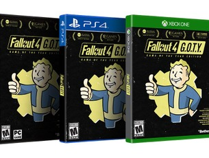 全DLC収録『Fallout 4: Game of the Year Edition』発表!海外で9月発売【UPDATE】