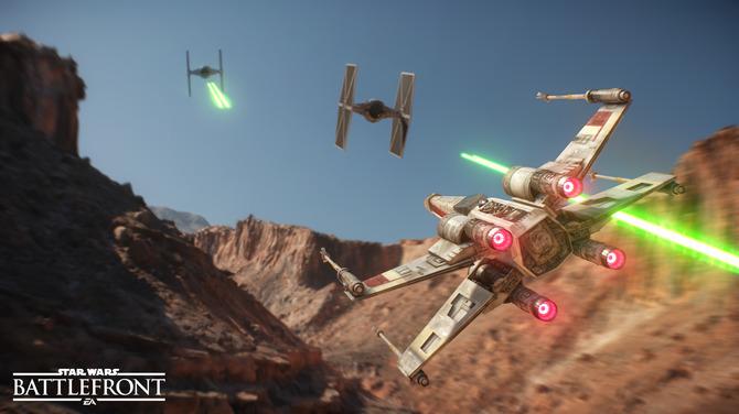 『STAR WARS バトルフロント』ビークルの操縦難易度は?―開発者明かした新情報