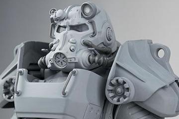 『Fallout』「T-60パワーアーマー」アクションフィギュアの新たなイメージ
