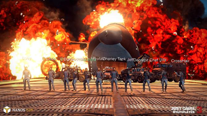 PC版『ジャストコーズ3』マルチプレイModが近日Steam配信!―最大