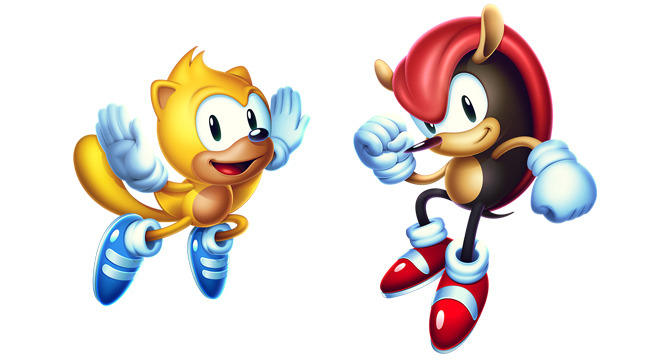 『Sonic Mania Plus』では2人の新プレイアブルキャラクター(レイ、マイティー)、新たな\u201cEncore\u201dモード、4人対戦モードが特色。パッケージでの発売となり、ホロ