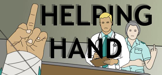 左手だけで世界を支配する helping hand steam配信 7つの