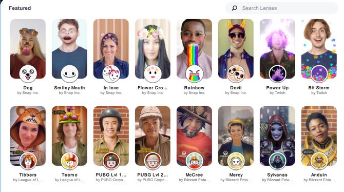 Snapchat、Twitch連携可能なPC向けカメラアプリ「Snap Camera」無料 ...