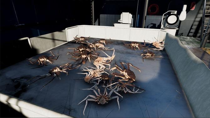 海 の 漁 ベーリング カニ