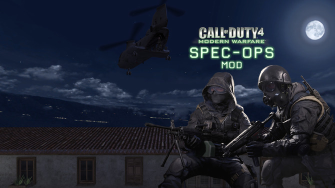 Call of Duty 4』にスペシャルオプス風のミッションを追加する