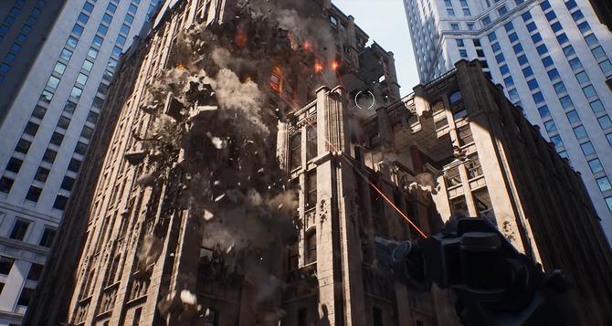 大迫力の破壊表現を披露するUnreal Engine技術デモ映像! リアルタイム ...