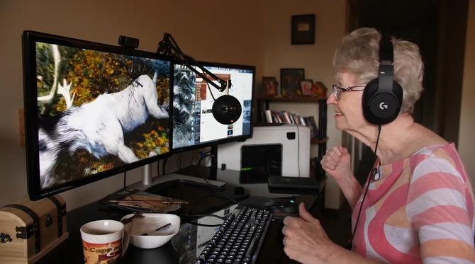 TES VI』にも出演する83歳ゲーマーおばあちゃんのドキュメンタリー映像が公開! | Game*Spark - 国内・海外ゲーム情報サイト
