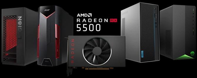 「Radeon RX 5500」の画像検索結果