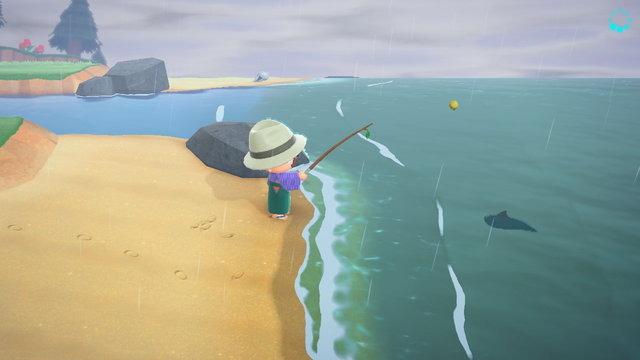 森 釣り の どうぶつ