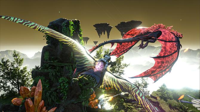 Ark クリスタル アイルズ 恐竜
