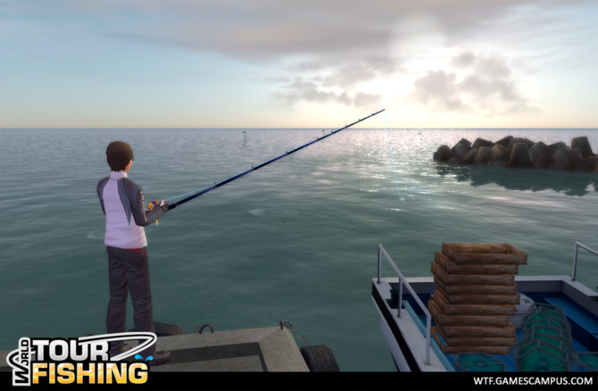 Mmo world tour fishing for Ps4 fishing games