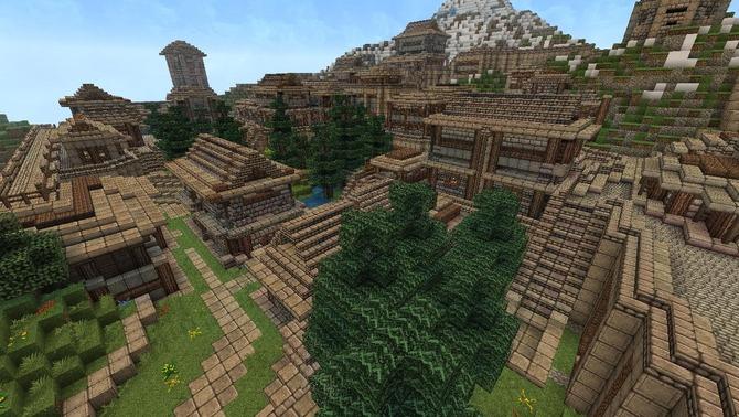 海外『Minecraft』プレイヤーによる新世界創造プロジェクト「Aerna」驚異的な最新イメージが公開