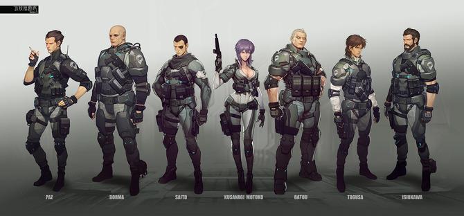 『攻殻機動隊』ゲーム